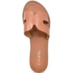 New Womens Flat H X Band Summer Flip Flop Sandals